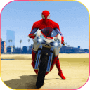 Superhero Tricky bike race