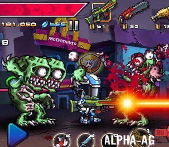 скачать бесплатно игру на андроид zombie diary с бесконечными деньгами