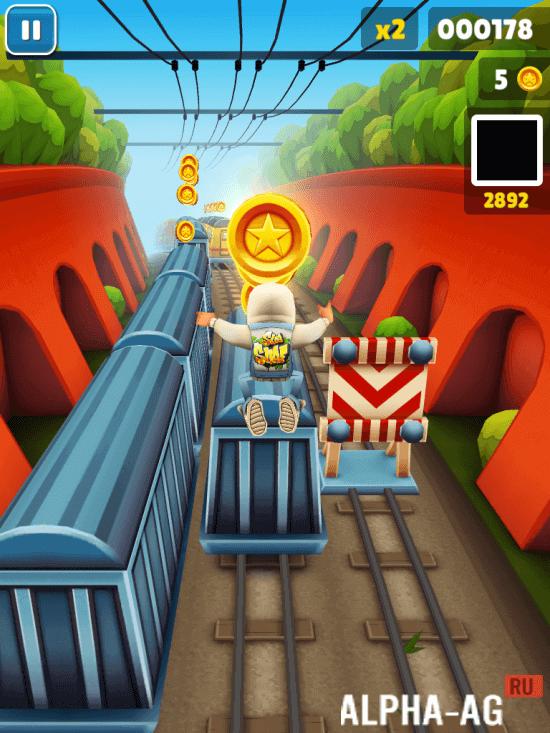 скачать игру subway surf взломана на деньги