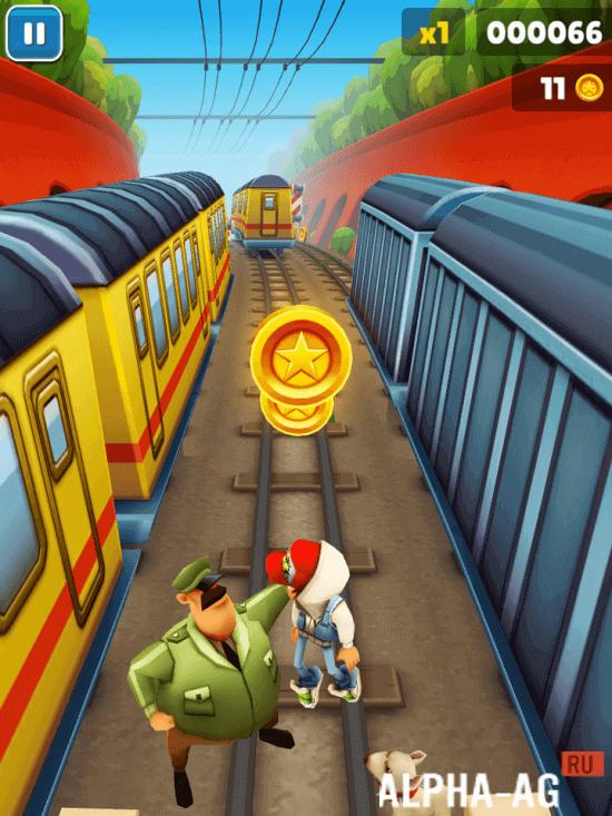 скачать игру subway surfer с бесконечными деньгами