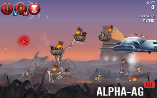 скачать игру на андроид angry birds star wars 2 много денег