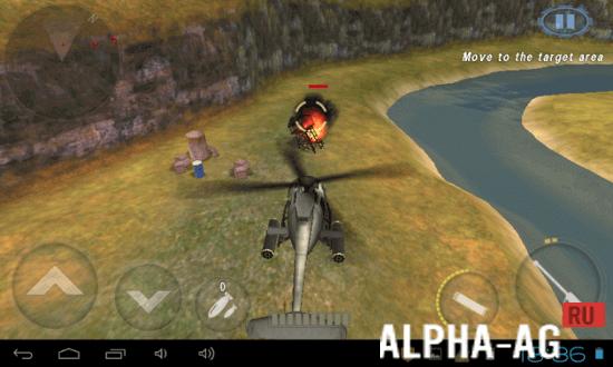 Скриншот Вертолет Битва: 3D №3