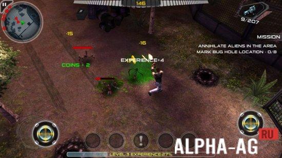 Взломанный Alien Shooter Скриншот №2