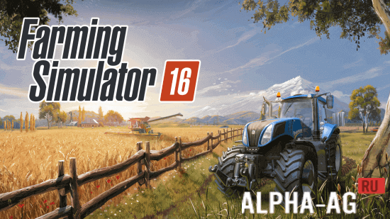 farming simulator 2016 Скриншот №1