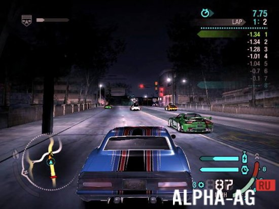 nfs carbon android скриншот №2