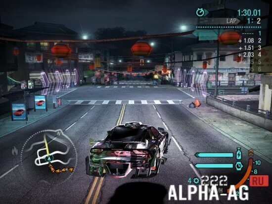 nfs carbon android скриншот №3
