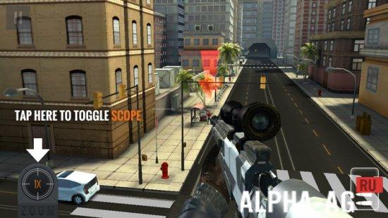 скачать игры на андроид снайпер ассасин много денег