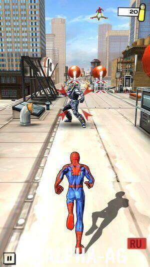 скачать игру совершенный человек паук бесконечные деньги