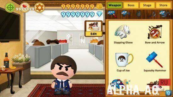 скачать игры на андроид босс 4 много денег и алмазов