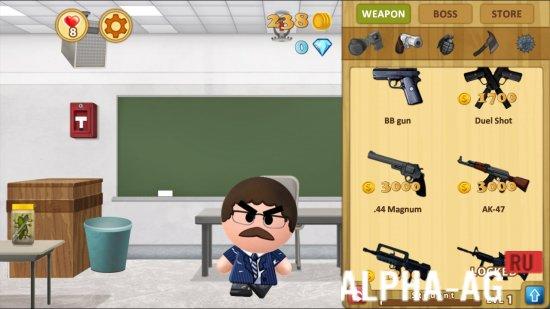скачать бесплатно игру босс 2 на андроид с бесконечными деньгами и алмазами
