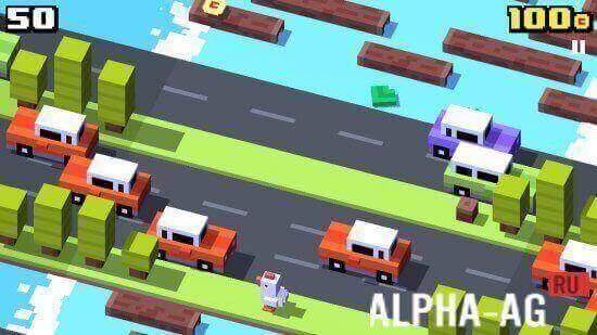 скачать игру crossy road на андроид с бесконечными деньгами бесплатно