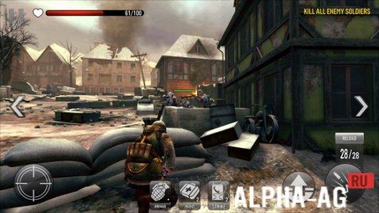 Скриншот FRONTLINE COMMANDO WW2 №2