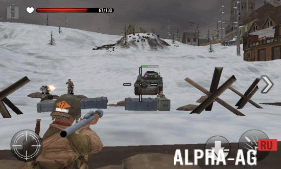 Скриншот FRONTLINE COMMANDO WW2 №3