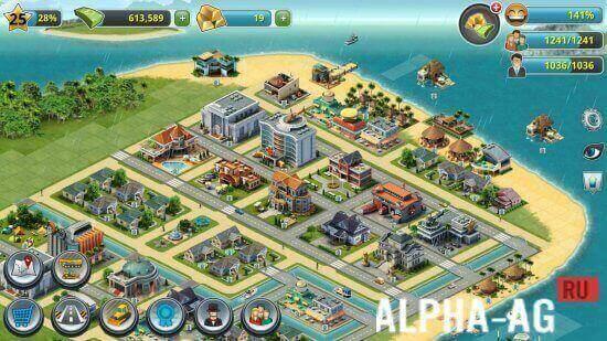 скачать игру city island 3 на андроид с бесконечными деньгами