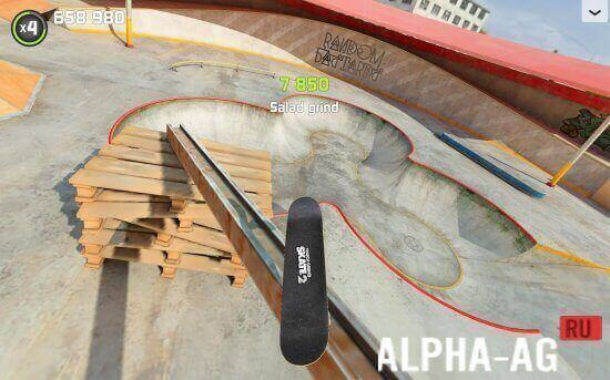 touchgrind skate 2 скриншот №3