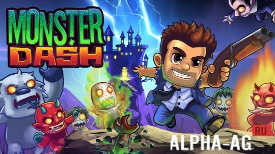 Скриншот Monster Dash №1