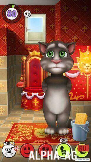 скачать игры на андроид кот том с бесконечными деньгами