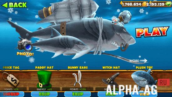скачать игры на андроид hungry shark с бесконечными деньгами