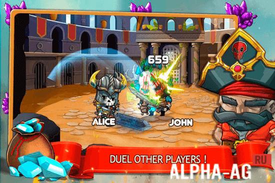 Скриншот Tiny Gladiators №2