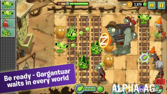 Plants vs Zombies 2 Скриншот №1