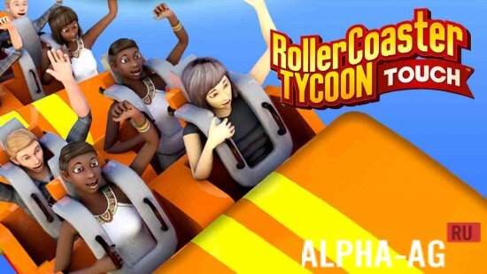 Rollercoaster Tycoon Touch Скриншот №1