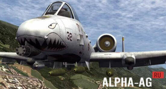 X-Plane 10 (Х-плейн 10) скачать взломанную игру на Андроид