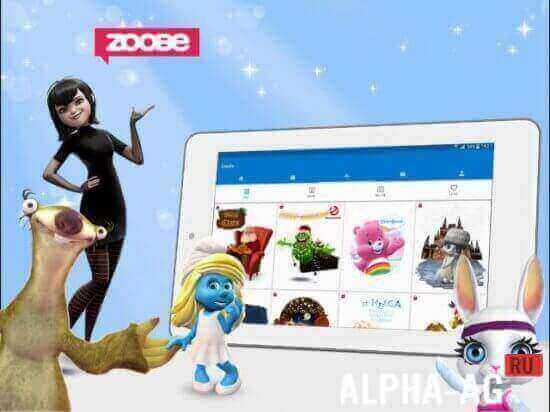 Скачать бесплатно программу zoobe зайка приложения скачать для самсунг