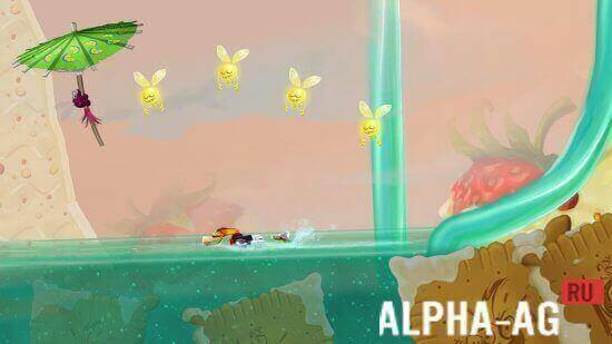 Rayman Fiesta Run Скриншот №3