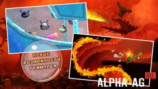 Rayman Fiesta Run Скриншот №4