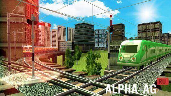 Взломанный train simulator 2016 Скриншот №3
