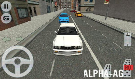 city car driving скриншот №2