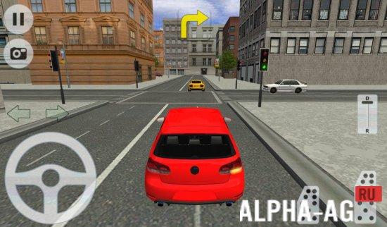 city car driving скриншот №4