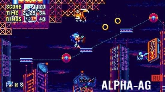 Скачать Sonic Mania на Андроид бесплатно