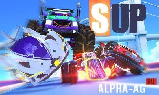 скачать игру sup multiplayer racing мод много денег