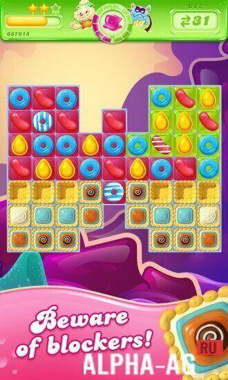 Candy Crush Jelly Saga Скриншот №3