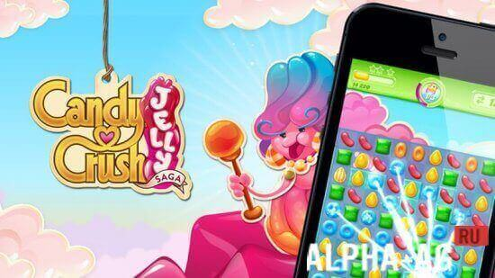 Candy Crush Jelly Saga Скриншот №1