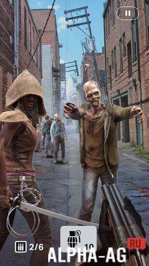 The Walking Dead: Our World Скриншот №4