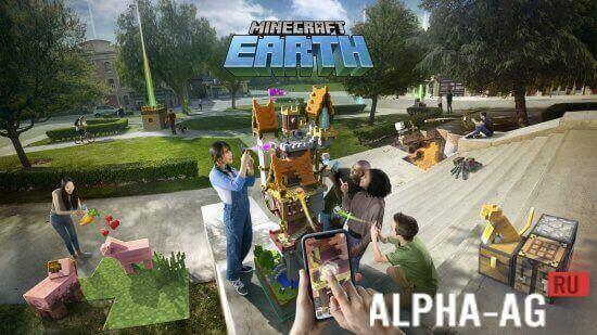 Minecraft Earth Скриншот №1