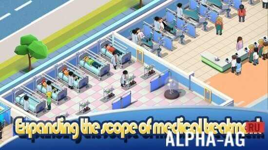 Idle Hospital Tycoon - Doctor and Patient Скриншот №3