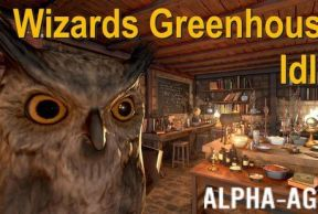 Wizards Greenhouse Idle
